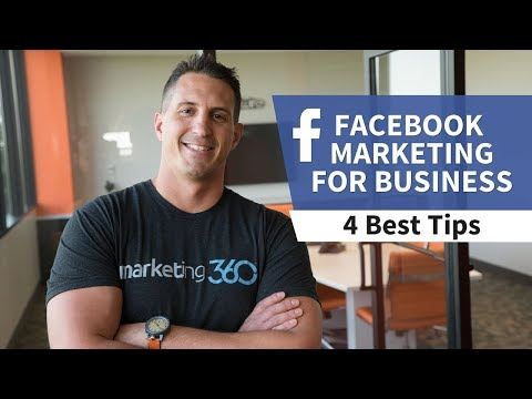 Facebook Marketing For Business - 4 Best Tips