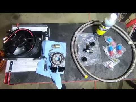VW Bus - Adding Remote Oil Cooler with Sandwich Adaptor - Part 1 of 2