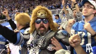 Big Cat, Super Fan, and Detriot Don watch the Packers vs Lions game (Hail Mary Game)