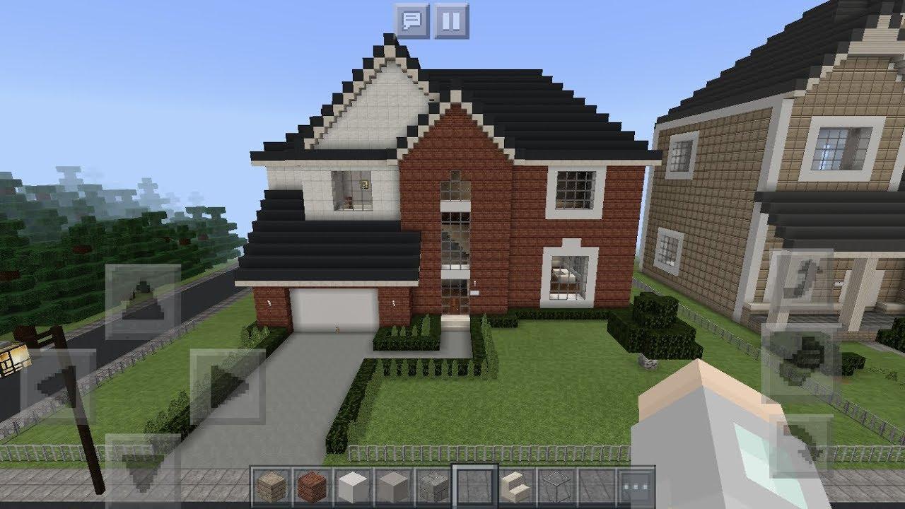 Realistic Suburban Minecraft House Tour #4 - YouTube