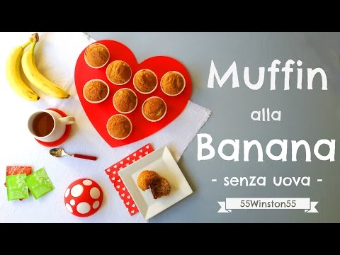 muffin-alla-banana---senza-uova-ma...-con-tanto-amore!!!-❤❤❤