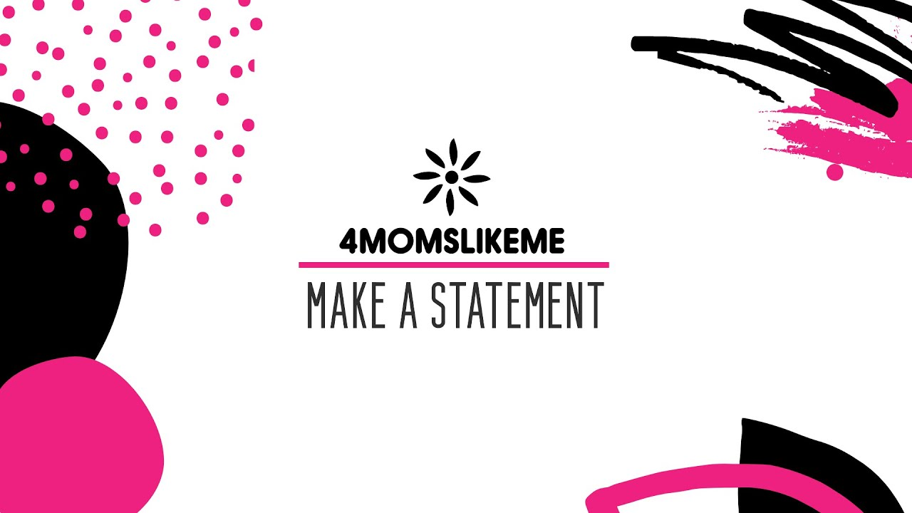 4MomsLikeMe Make A Statement Graphic Tees for Moms Promo Video