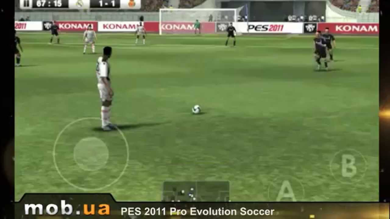 PES 2011 Pro Evolution Soccer for Android - Download APK free