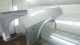 ВАЗ 2109 ремонт арок и выкрас крыльев