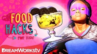 Superhero Food Hacks | FOOD HACKS FOR KIDS