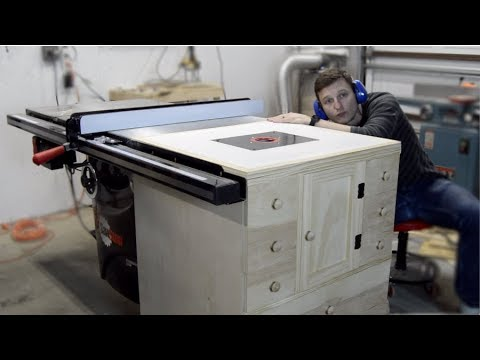 Built-In Router Cabinet | DIY Router Table Part 3