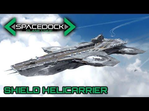 MCU: SHIELD Helicarrier - Spacedock Planetside