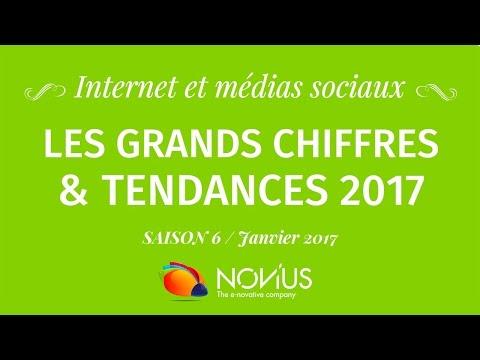 Internet et médias sociaux : les grands chiffres et tendances 2017