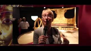 شاهد.. عرض بنيويورك لمعرض «توت عنخ آمون» لتنشيط السياحة