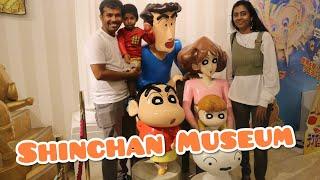 Shinchan Museum  Kasukabe city Shinchan museum vlog in Tamil   LivewithmeinJapan vlog