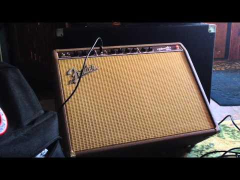 Fender vibroverb 63 reissue demo