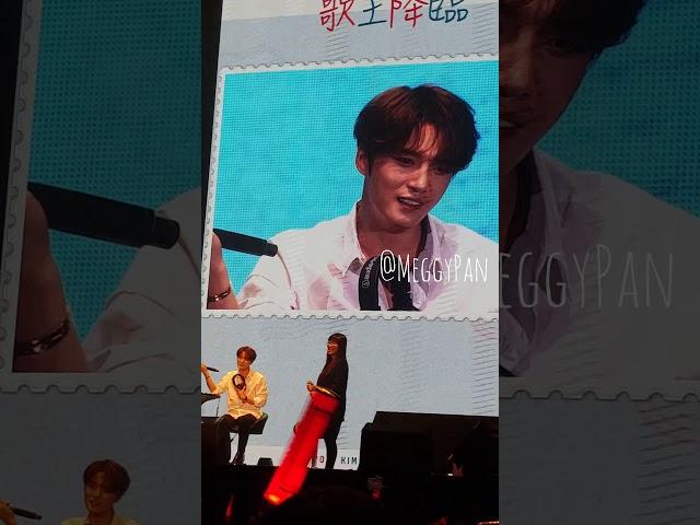[FanCam] 김재중 金在中 - 歌王降臨 (171105 Fanmeeting in Taipei)