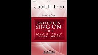 Jubilate Deo (SATB Choir) - by Derrick Fox