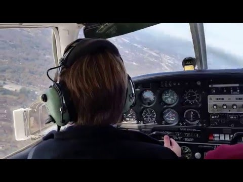 Florian flying over Spartanburg, South Carolina