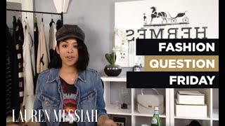 LIVE: Fashion Question Friday