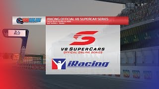 iRacing Official V8 Supercar Series - Round 1, Le Mans