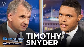 "Timothy Snyder - A Guide to Maintaining Democracy in ""On Tyranny"" 