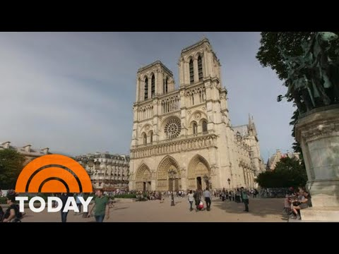 Inside The Race To Save The Notre Dame Cathedral | TODAY