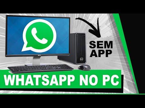 Como Usar O WhatsApp No PC (SEM APLICATIVOS) 😱