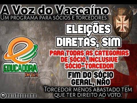 A VOZ DO VASCAÍNO. 10/11/2019. CSA 0 X 3 VASCO.