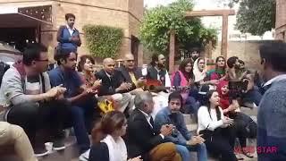 Hum mehnat kash is dunya say jab apna hissa mangengy , revolutionary song by students of Punjab Univ