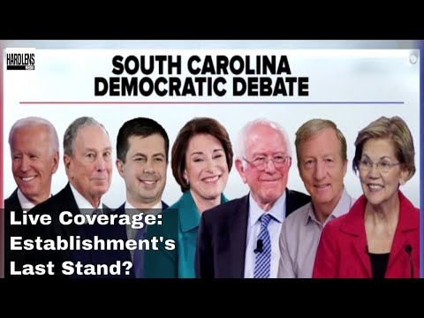 LIVE: CBS South Carolina Democratic Debate
