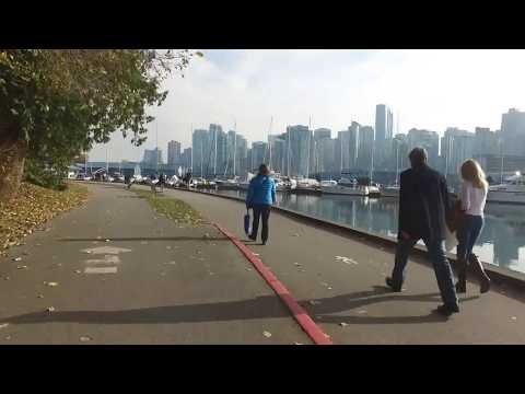 2017 10 31 Bike tour in Vancouver