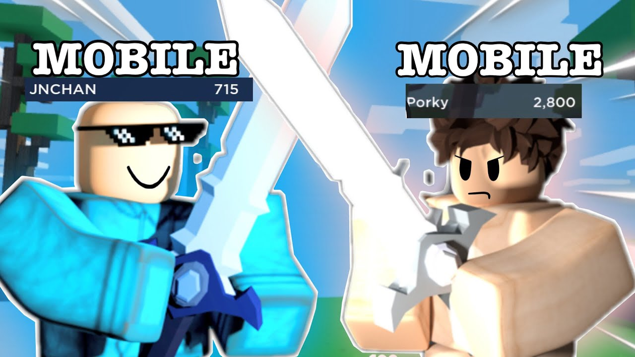 Download I 1v1 some of the best mobile players…(roblox bedwars)