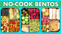 Back To School Healthy Bento Box Lunches– No Bake/No Cook Recipes! - Mind Over Munch