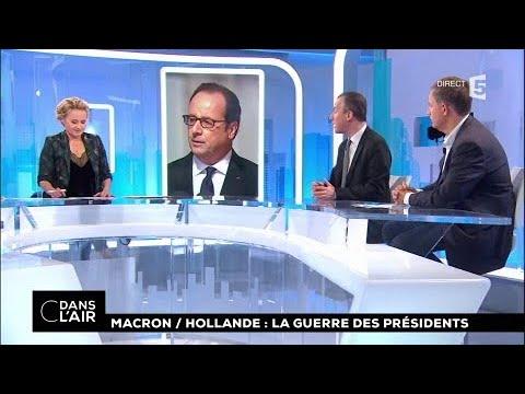 Macron-Hollande : la guerre des présidents #cdanslair 23.10.2017