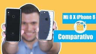 Xiaomi Mi 8 vs iPhone 8: o melhor de dois mundos [Comparativo]
