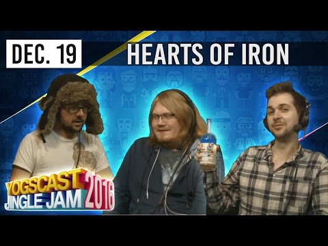 HEARTS OF IRON IV w/ PYRION, LEWIS & DUNCAN - YOGSCAST JINGLE JAM - 19th December 2016
