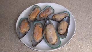 Мидии с сыром и чесноком в ракушках | Самый вкусный рецепт | Мидии на сковороде гриль | ПП ужин