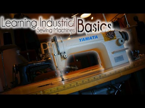 How to Thread Industrial Sewing Machines | The Basics.