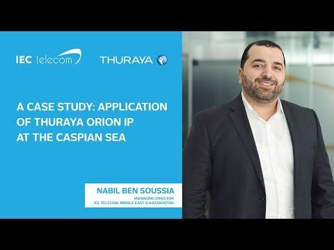 Nabil Ben Soussia, Managing Director, IEC Telecom Middle East & Kazakhstan