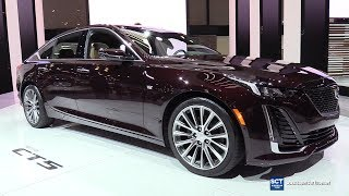 2020 Cadillac CT5 550T - Exterior Interior Walkaround - Debut at 2019 New York Auto Show
