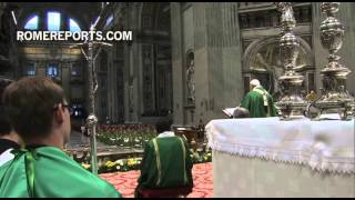 Full Homily of Pope Francis, as he addresses new Cardinals