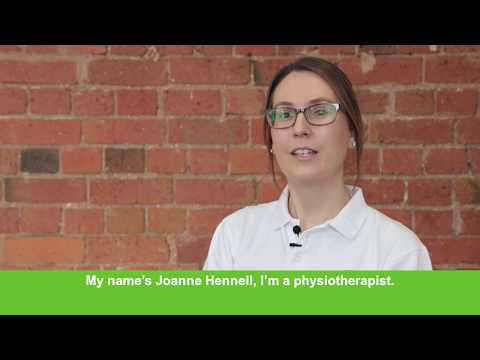 Joanne Hennel, Physiotherapist - returning Allied Health Professional