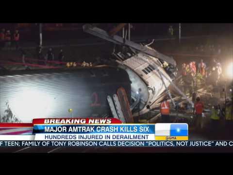 Amtrak Derailment in Philadelphia Leaves 6 Dead
