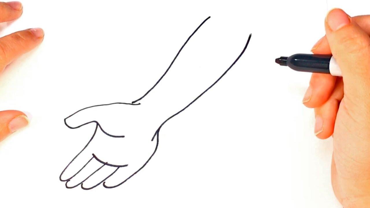 Cómo Dibujar Un Brazo Paso A Paso Dibujo Fácil De Brazo