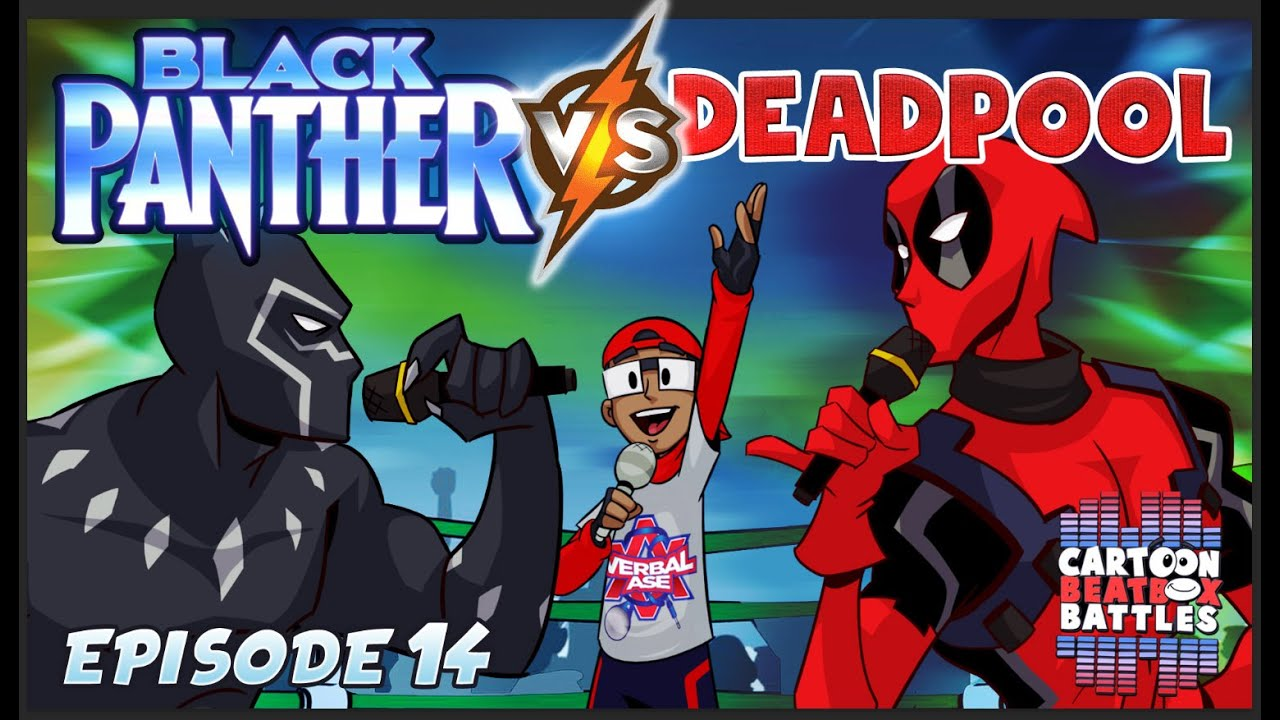 Download Black Panther Vs Deadpool  - Cartoon Beatbox Battles