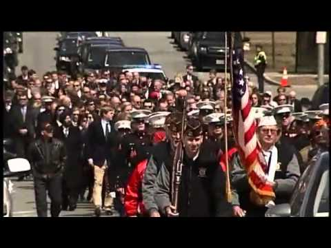 Funeral for local Marine killed in grenade explosion