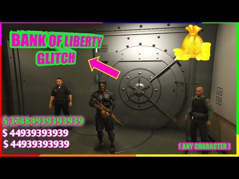 Gta 5 Bank Of Liberty Money Glitch ( Unlimited Money In Few Minutes )