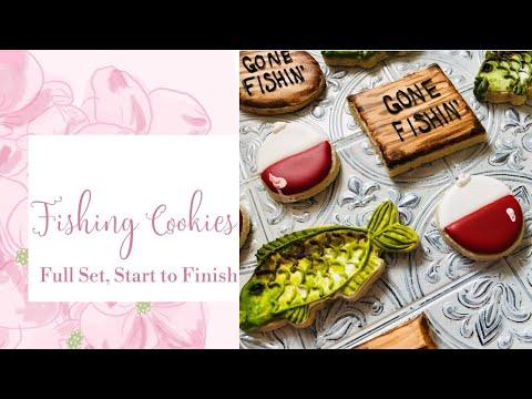 How To Make Fishing Cookies- Fishing Sugar Cookies