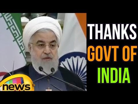 Iran President Hassan Rouhani Thanked India Over Friendship Ties | Mango News