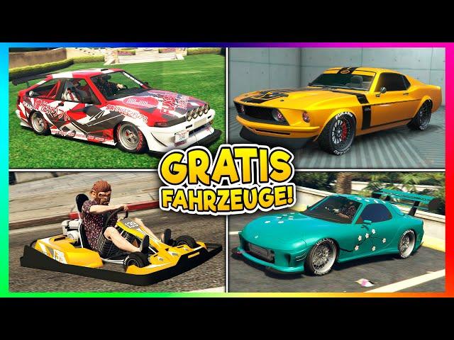 😍 9 NEUE GRATIS AUTOS IN GTA ONLINE! | GTA 5 News 😍
