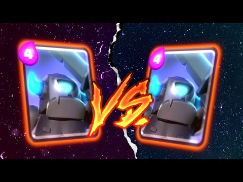 Clash Royale MINI PEKKA Vs. MINI PEKKA (Battle To The Death)