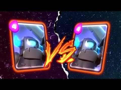Clash Royale MINI PEKKA vs. MINI PEKKA (Battle to the death)