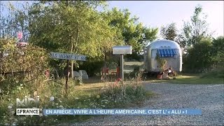 En Ariège, un camping rétro à l'heure américaine
