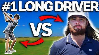 Epic 9 Hole Match Against #1 Long Driver In The WORLD (Kyle Berkshire) | GM GOLF